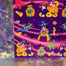 VHTF MINT Vintage Lisa Frank Pigarella Fortune Teller Halloween Stickers S319 image 5