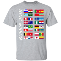 Russia 2018, The 32 Teams Headed To The 2018 World Soccer Cup In Russia ... - $19.99+