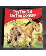 Pin the Tail on the Donkey New in Box Traditional Birthday Party Game Pr... - $8.90