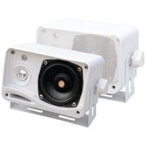 Pyle PLMR24 Hydra Series 3.5 200-Watt 3-Way Weatherproof Mini-Box Speake... - $54.54 CAD