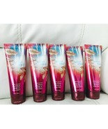5 Bath Body Works Womens Amber Blush 24 Hour Moisture Body Cream Sold Out - $38.81