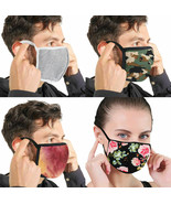 4x Cloth Protection Face Cover Mask Reusable Washable Outdoor Handmade F... - $13.84