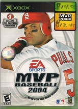 MVP Baseball 2004 Microsoft Xbox 2004 Case Game and Manual - $2.99