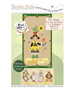 CLEARANCE Once Upon A Stitch:Mrs. Winkie The Beekeeper Wizard of Oz Chart  - $3.00