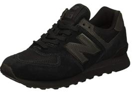 New Balance 574 Classic Sz US 9 M (D) EU 42.5 Men's Running Shoes Black ML574ETE