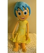 """Disney Store Frozen Anna 15"""" Plush Toy Doll with yellow dress blue hair ... - $10.88"""