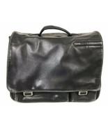 """TUMI Alpha Expandable Leather Laptop Bag Briefcase 16"""" x 12"""" x 6"""" Black ... - $76.00"""