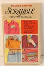 Vintage 1978 Pocket Edition SCRABBLE Brand Crossword Game No 27 NOS Coll... - $21.77