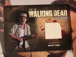 Walking Dead Season 2 Wardrobe Card M8 Dale Horvath White Tank - $39.59