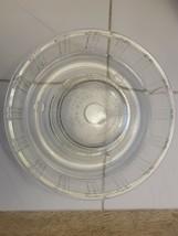 QUEEN-ANNE GLASBAKE Glass Jello Mold Tube Bundt Cake Baking Pan Dish Vin... - $14.00