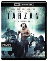 The Legend of Tarzan [4K Ultra HD/Blu-ray, 2017]