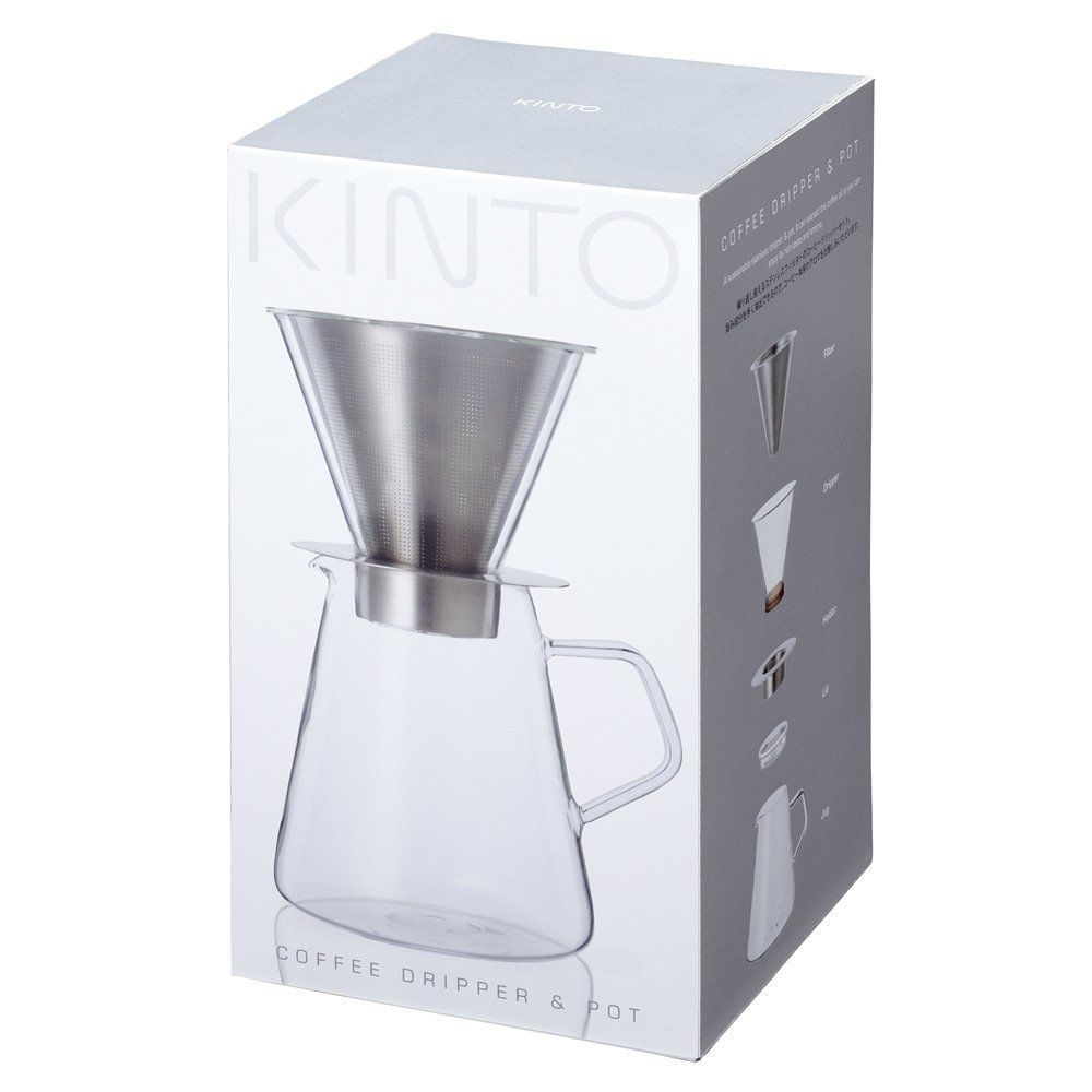 700 ml Carat Coffee Dripper and Pot with Lid by Kinto image 4