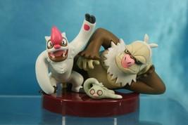 Tomy Pokemon AG Zukan P6 1/40 Scale Real Figure Slakoth Vigoroth Slaking - $69.99