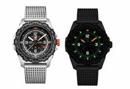 Luminox Bear Grylls Air GMT XB.3762 44mm Black Mesh Steel Quartz Men's Watch image 3