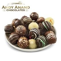 Andy Anand Delectable Variety Handmade Artisan Truffles 32pcs Free Air Shipping - $32.84