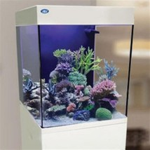 10 Gallon Cubey White Aquarium All in One Nano Fish Tank New by JBJ - $254.46
