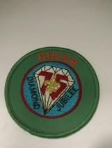 BSA 75th Diamond Jubilee Hiker Patch Boy Scouts of America - $4.00