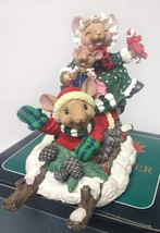 Mouse Family Stocking Holder - $14.99
