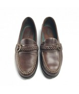 G H Bass leather buckle loafers made in Brazil mens 9.5 - $25.24