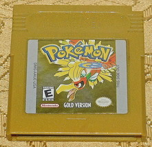 Pokemon Gold Version AUTHENTIC BATTERY SAVES Nintendo Game Boy Color Gam... - $23.32