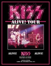 KISS Rock Band ALIVE! Largo MD Nov 30th 1975 Stand-Up Display II - Conce... - $15.99