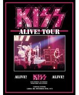 KISS Rock Band ALIVE! Largo MD Nov 30th 1975 Stand-Up Display II - Conce... - $16.99
