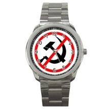 Sport Metal Unisex Watch Highest Quality Anticomunist - $23.99