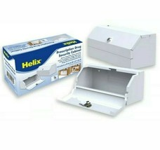 "NEW Helix 27050 11-1/4"" X 4-5/8"" X 3-1/4"" White Prescription Cabinet,No ... - €17,84 EUR"