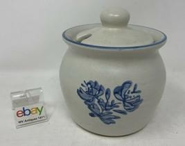 "Pfaltzgraff USA ""Yorktowne"" Honey Pot / Jam or Jelly Jar, Sugar Bowl - Very Nice - $11.99"