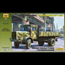Zvezda 1:35 Scale German Mercedes L-4500 Heavy Truck Einheitsfahrerhaus ... - $46.20