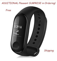 Xiaomi Mi Band 3 Fitness Bracelet ADDITIONAL Pleasant Surprise in Ordering - $25.64