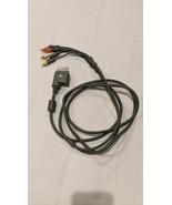 Genuine Microsoft Xbox 360 Component HD AV Cable Composite RCA HDTV Preo... - $6.92