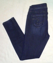Silver Jeans Suki Jegging Size 1/2 W26/L29 Skinny Dark Wash - $14.85