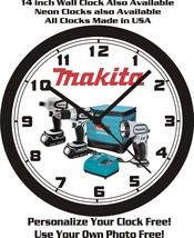 Makita Power Tools Wall CLOCK-FREE Usa Ship! - $28.70