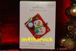 Hallmark 2012 Season's Treatings #4 - Baking Sheet - #QX8074 - $24.99