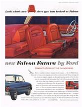 Vintage 1961 Magazine Ad Ford Falcon Futura Compact Cousin Of The Thunderbird - $5.93
