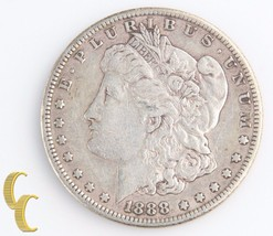 1888-S Morgan Silver Dollar (Very Fine+, VF+) San Francisco Lower Mintag... - $191.07