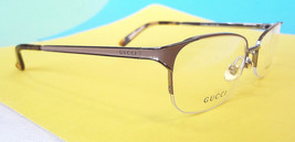 GUCCI Frame Glasses GG4206/Y STAINLESS STEEL Blush Ruthen MADE IN ITALY ... - $199.95