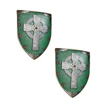 Design Toscano Celtic Warriors Sculptural Wall Shield - Set of Two - $102.96