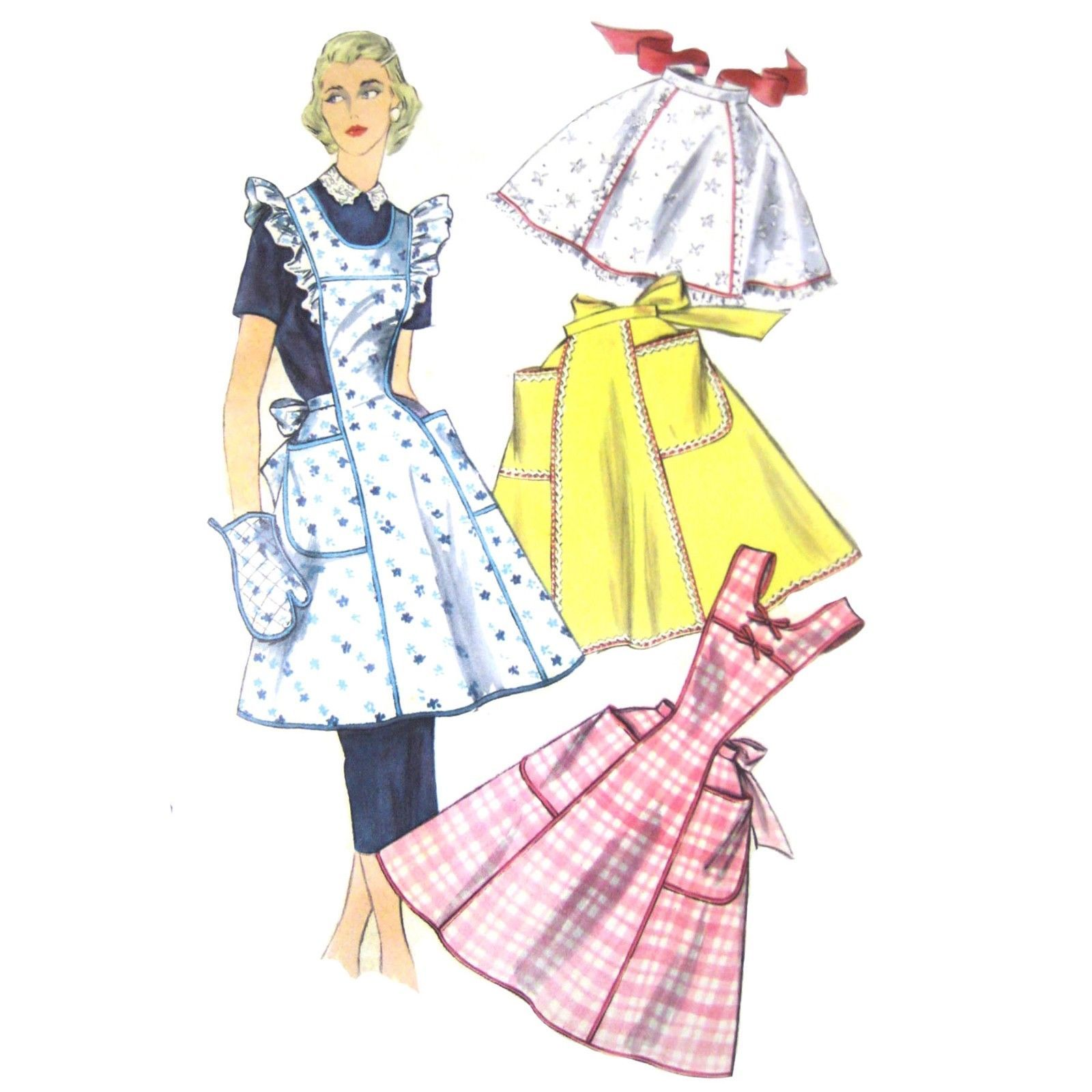 Simplicity 1955 Sewing Pattern (1950s): 4 listings
