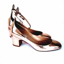 J-2876102 Valentino Garavani Copper Tango Pumps Shoes Size US 8.5 Marked... - $388.36