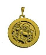 24K Gold Pltd King Koopa Bowser Pendant charm Solid Jewelry Super Mario ... - $65.33