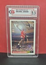 1992-93 Upper Deck Michael Jordan Collectors Grade Nrmt-Mt + 9.5 - $18.52