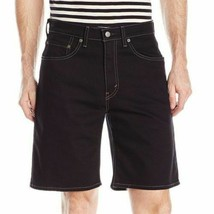 Levi's Men's 550 Cotton Denim Shorts Regular Straight Fit Black 35550-0097 image 2