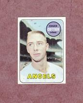 1969 Topps # 252 Chuck Cottier California Angels Nice Card - $2.99