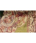 Women's Handmade Persian Shawl - Olive Green Scarf - Great Accessories Gift - $82.99