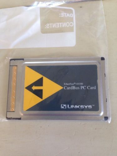 LINKSYS ETHERFAST 10 100 INTEGRATED PC CARD DESCARGAR CONTROLADOR