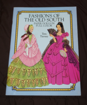 Tom Tierney Paper Dolls   Fashions of the Old South  - New Uncut Pages - $10.70
