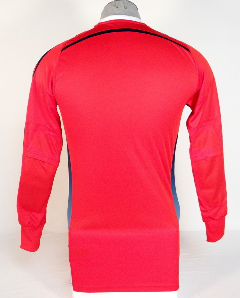 af4ffcdfe Adidas AdiZero Onore 14 GK Red   Blue Long Sleeve GoalKeeper Jersey Mens NWT