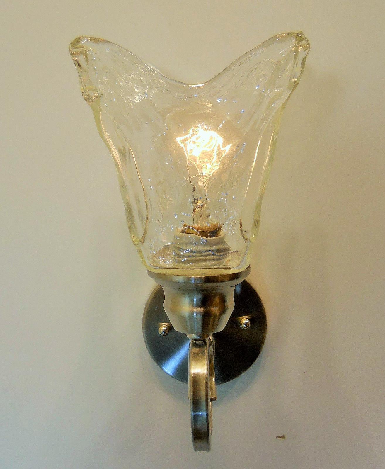Handmade Glass Vintage Edison Bulb Type Wall Sconce Light Fixture